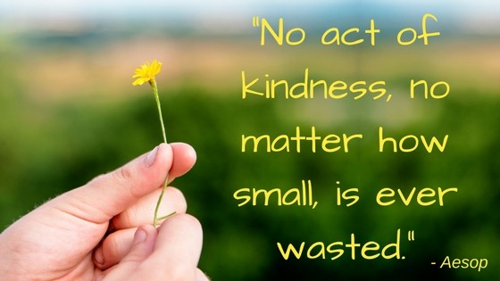 random acts of kindness week 2018