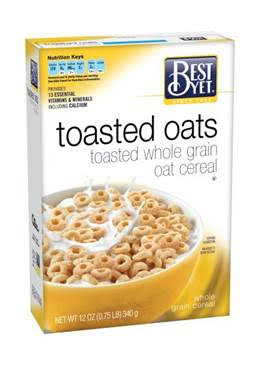 Best Yet Toasted Oats Cereal