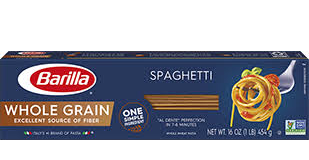 Barilla Whole Grain Spaghetti