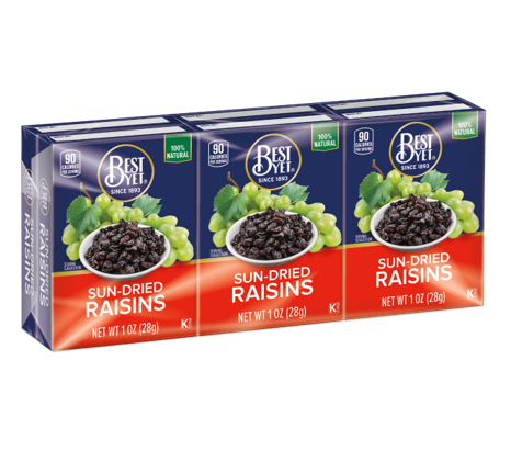 Best Yet Raisins - 1oz