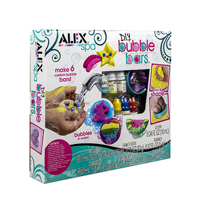 Alex Spa DIY Bubble Bars Kit