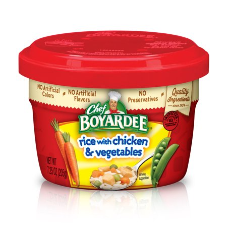 Chef Boyardee Rice Chicken Vegetable Cups