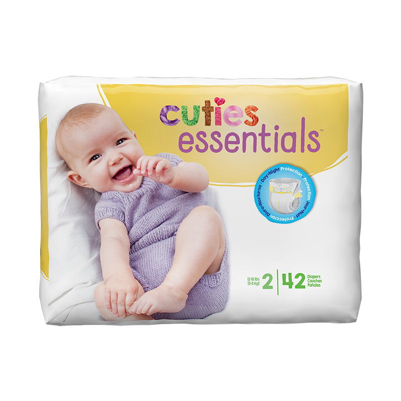 Cuties Size 2 Diapers