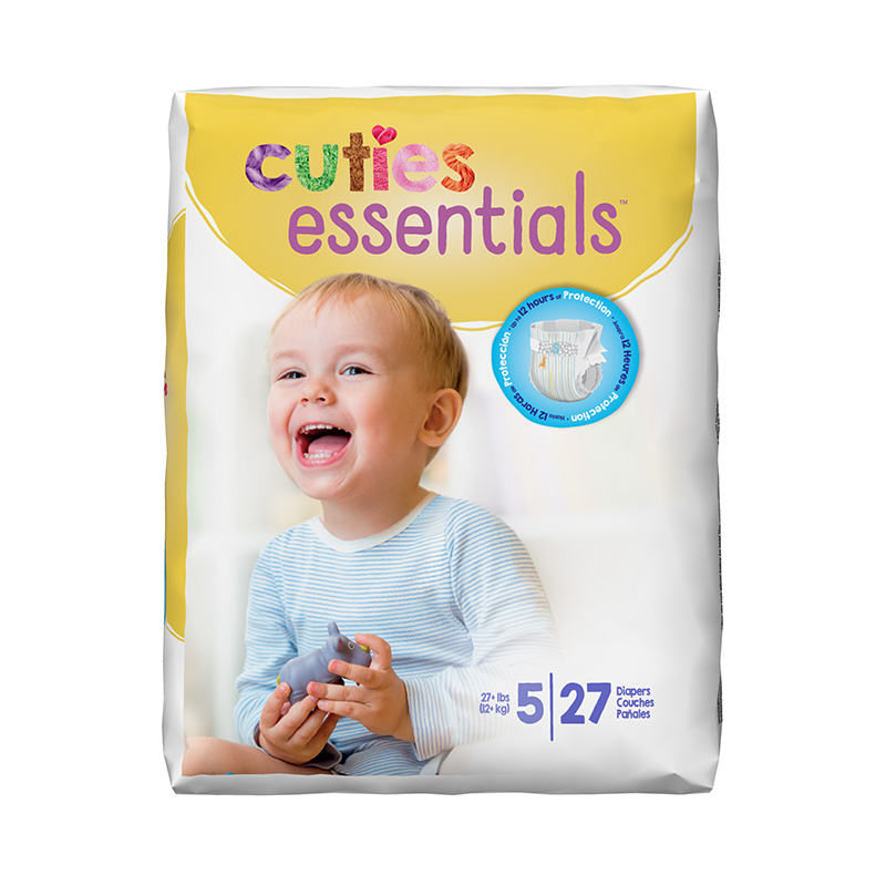 Cuties Size 5 Diapers