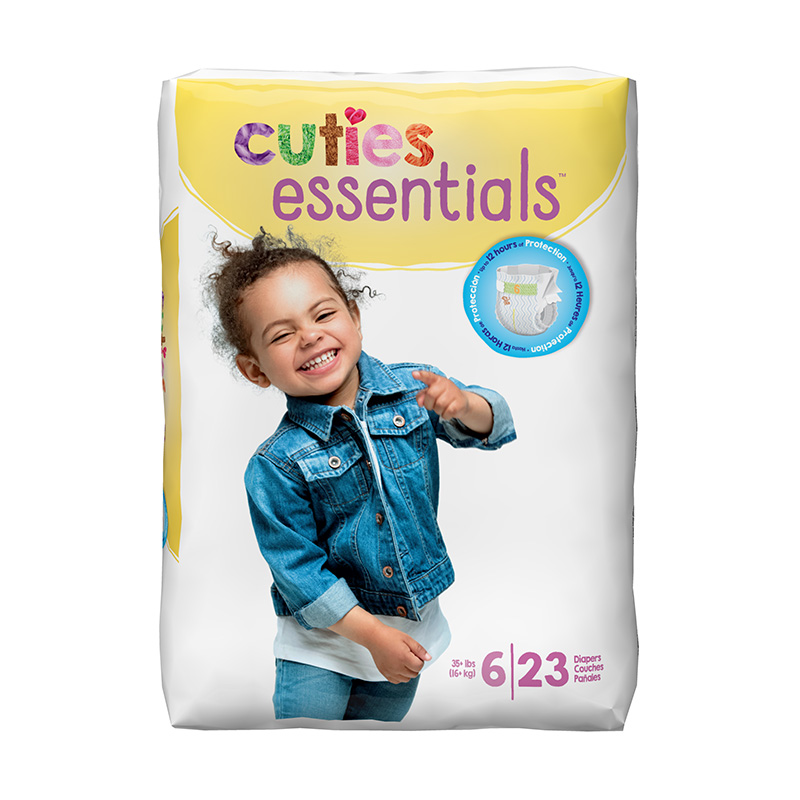 Cuties Size 6 Diapers