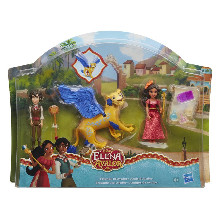 Disney Elena Friends of Avalor Playset