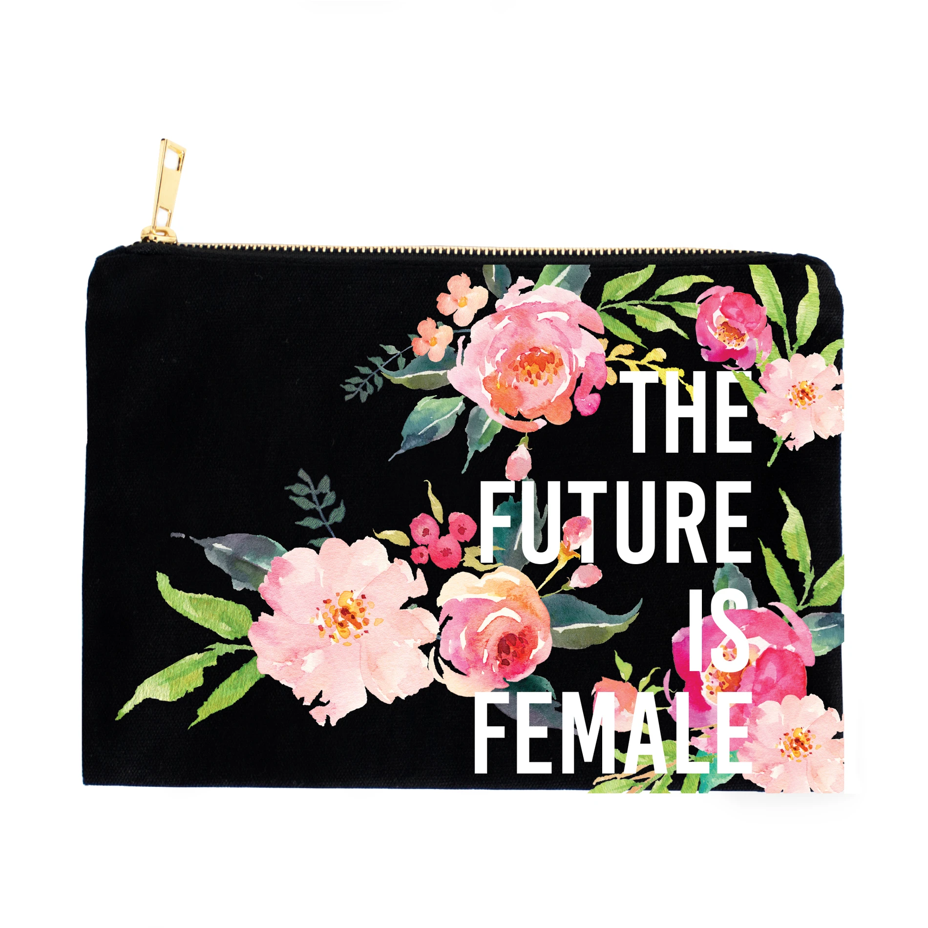 Future is Female Makeup Pouch