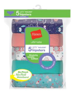 Hanes Girl's Hipsters
