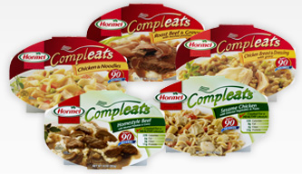 HORMEL Compleats  Microwave Meals