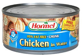 Chicken - canned
