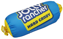 Jolly Rancher Pillow