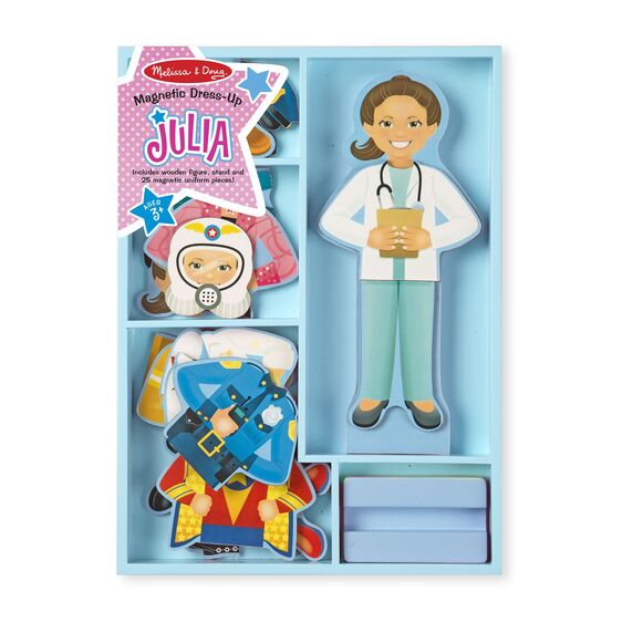 Melissa & Doug Dress-Up Doll Set