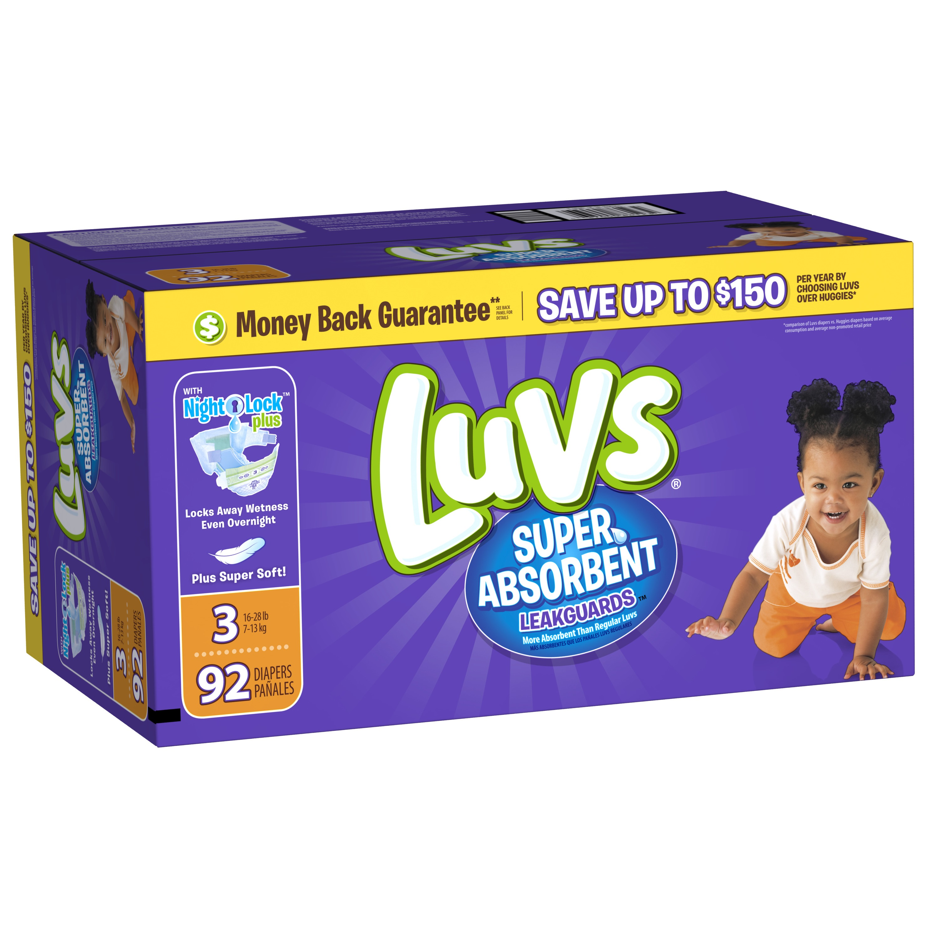 Luvs Diapers - Size 3