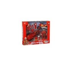 City Action Fire Truck Playset