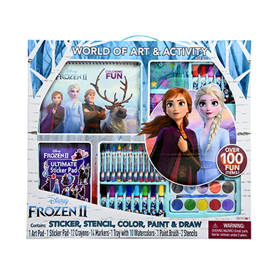 Frozen 2 Giant Art & Activity Kit