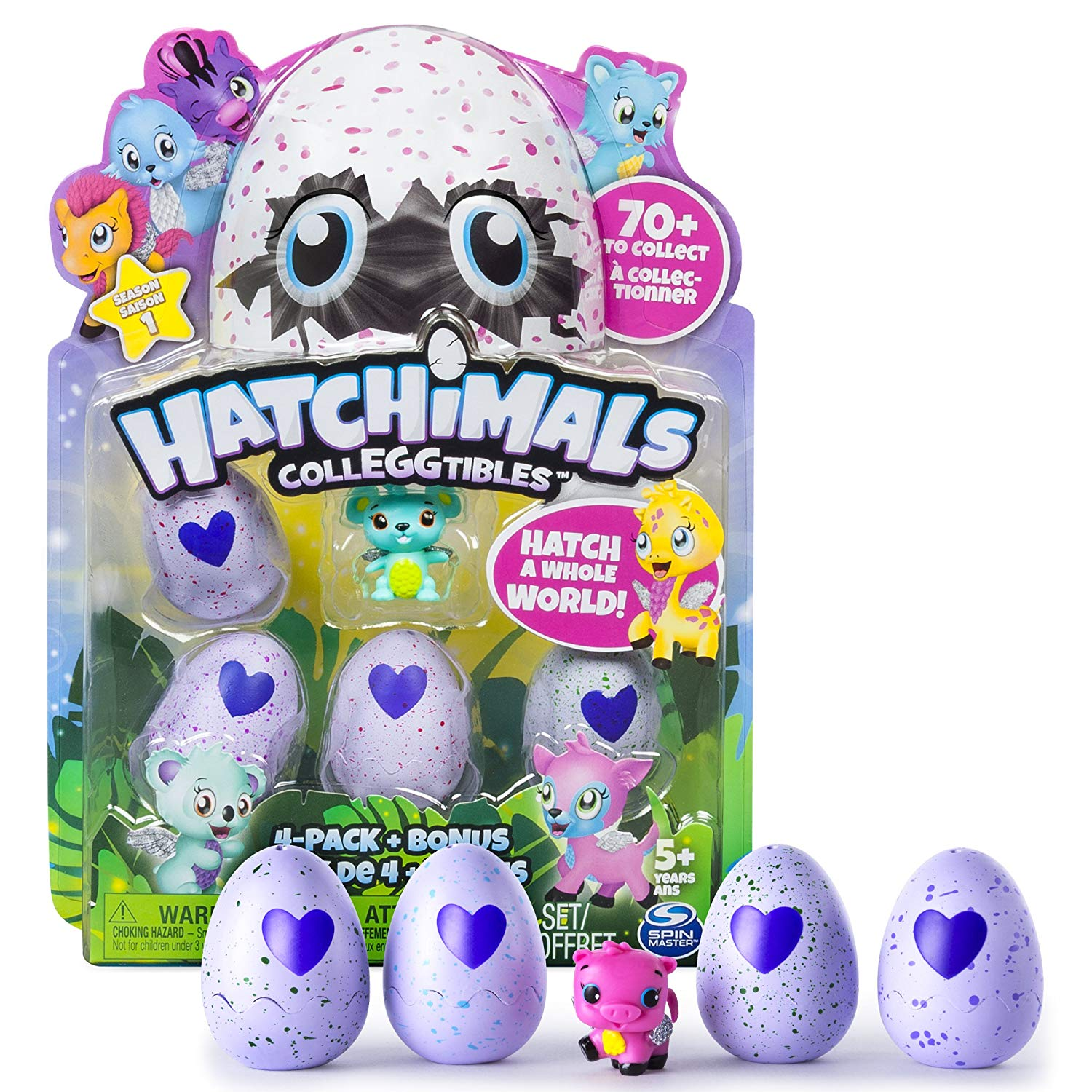 Hatchimals CollEGGtibles Pack