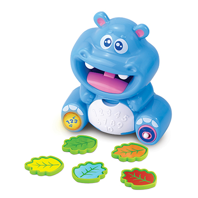Counting Hippo  (Bilingual)