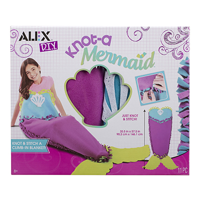 Alex DIY Knot-A Mermaid Kit