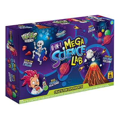 6 in 1 Mega Science Lab
