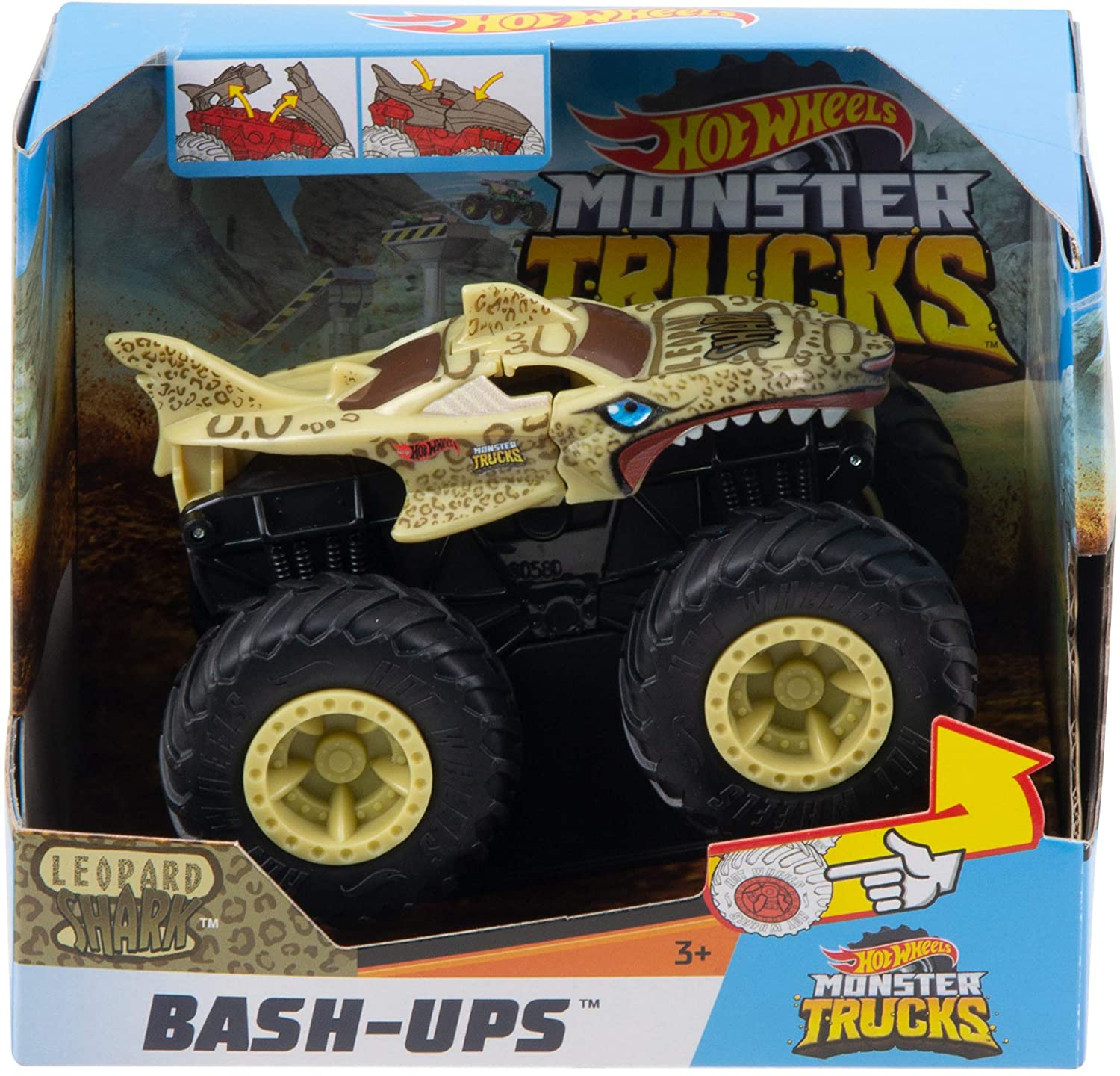 Hot Wheels Monster Truck Bash-Up