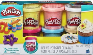 Play-Doh Confetti Compound Cans  6ct