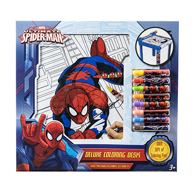 Spiderman Deluxe Coloring Desk