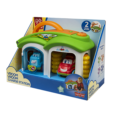 Little Learners Vroom Vroom Charge Station