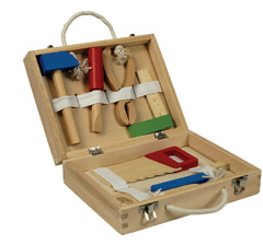 Wooden Tool Box Set