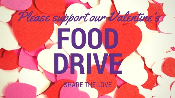 Give From The Heart Food Drive
