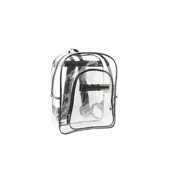 Backpack - clear plastic