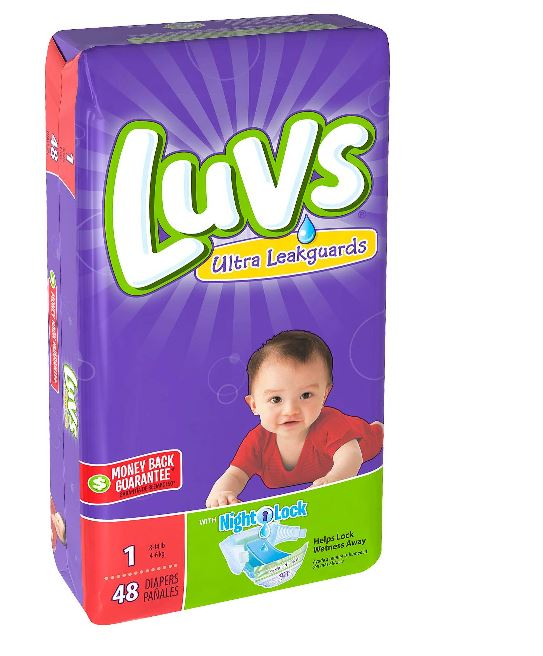 Luvs Diapers - Size 1