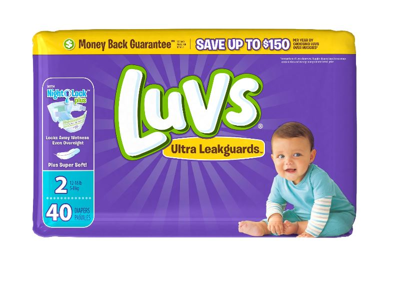 Luvs Diapers - Size 2