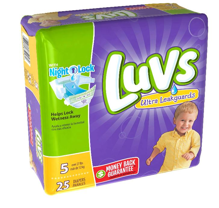 Diapers - Size 5