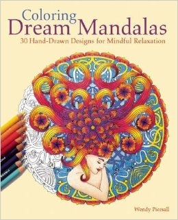 Ulysses Press Coloring Dream Mandalas Coloring Book