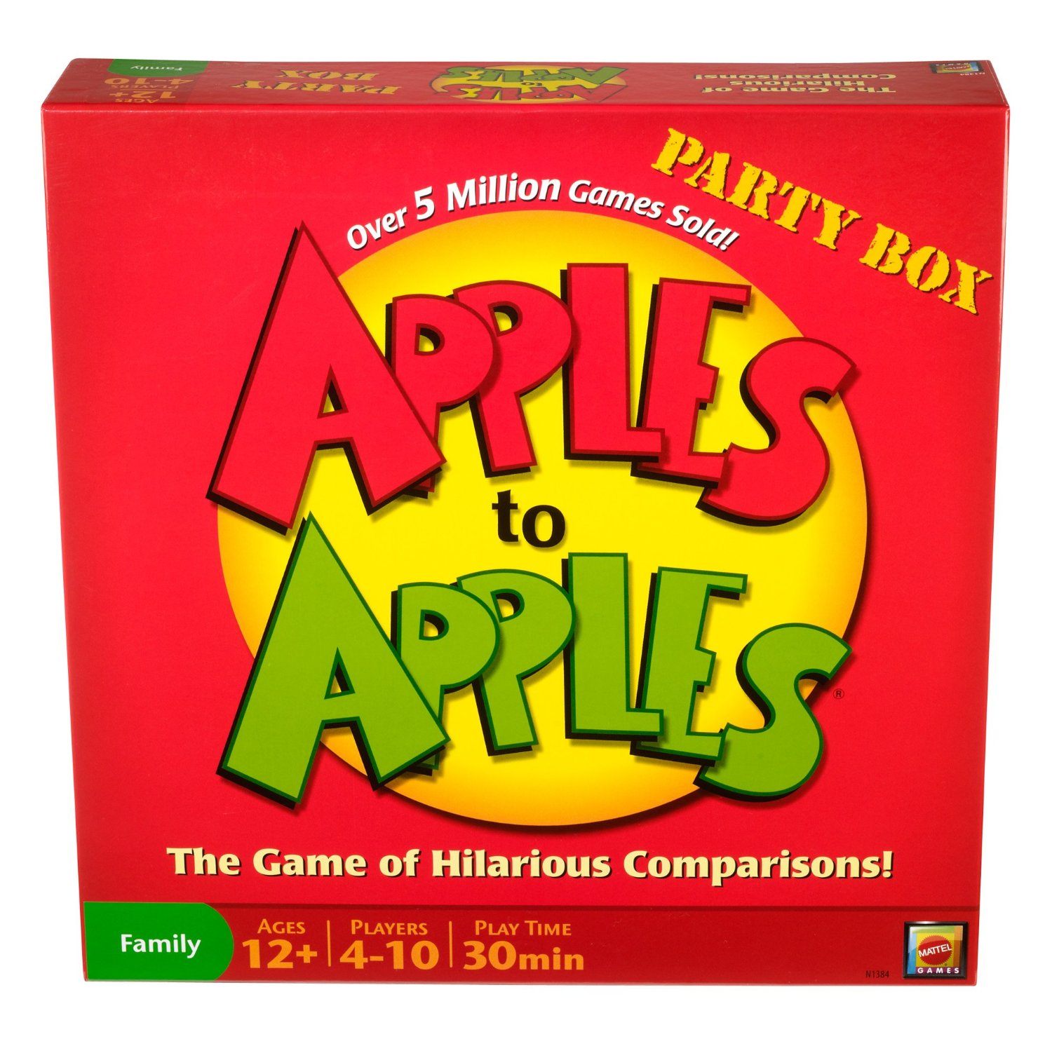 Mattel Apples to Apples Party Box Edition