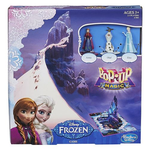 Pop-Up Magic game - Disney Frozen version