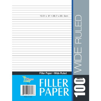Notebook Paper - wide ruled