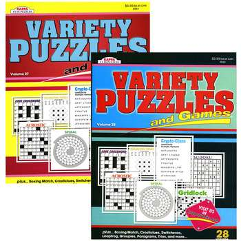 Kappa Puzzles and Games Books